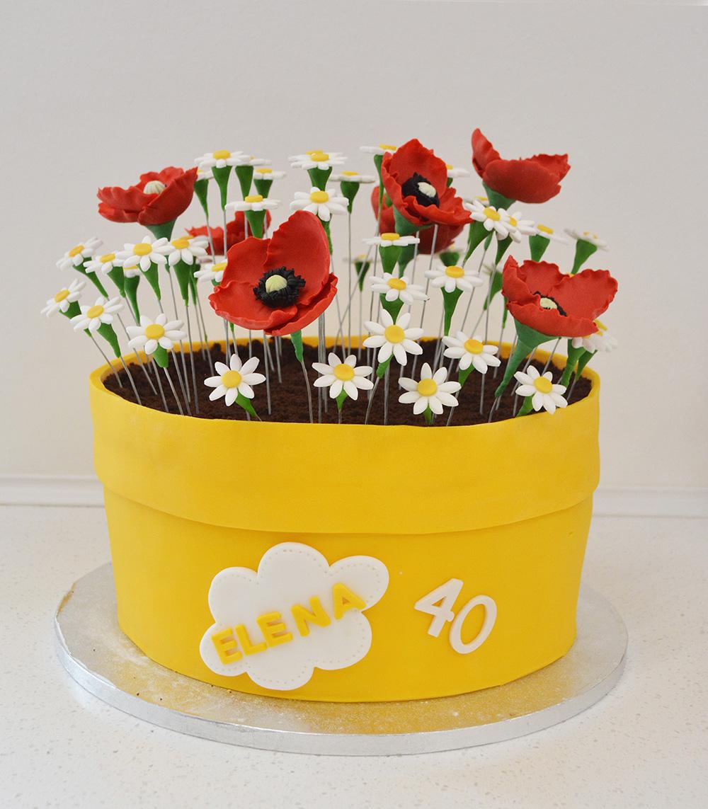 Torta Compleanno Laura.Torte Cake Designer