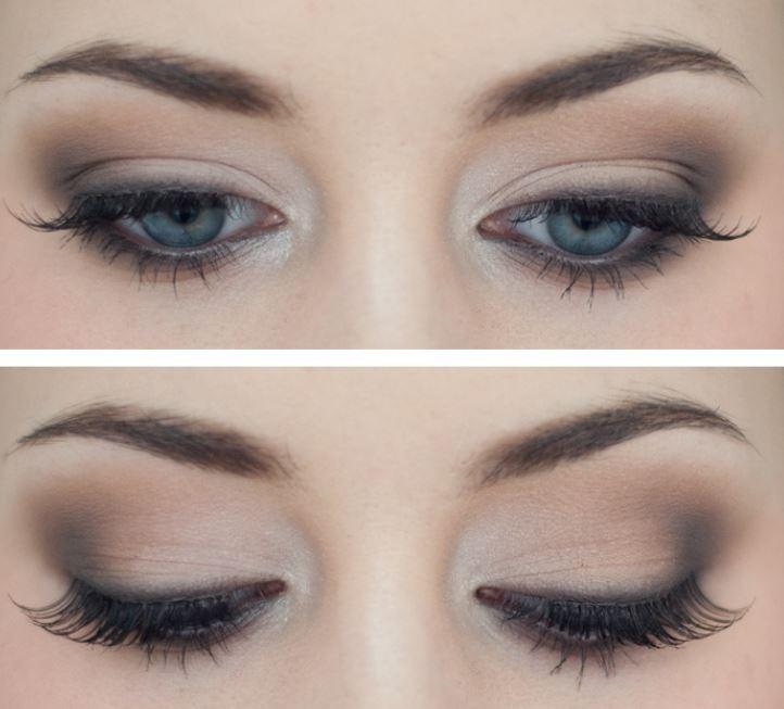 Trucco,leggero,per,occhi,azzurri