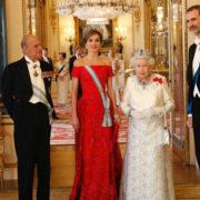 Letizia fa la regina in Inghilterra