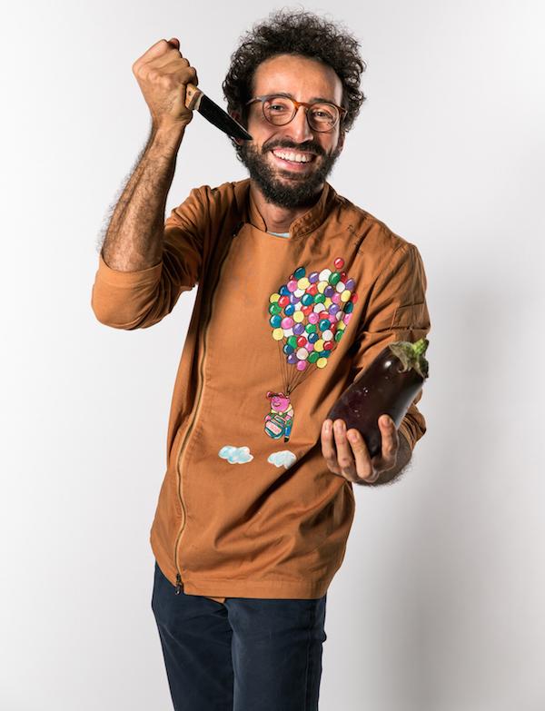 Franco Aliberti chef coltello