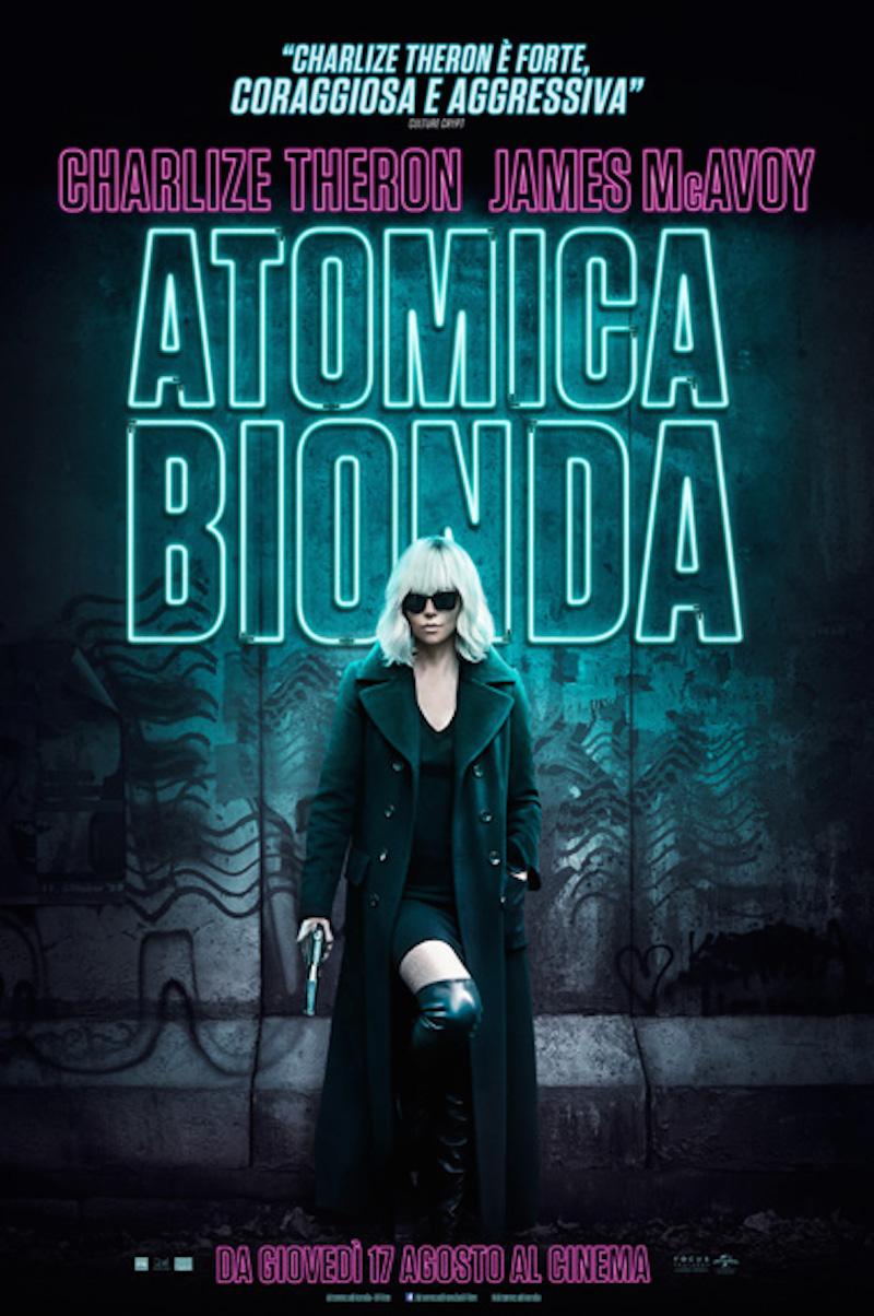 atomica bionda locandina