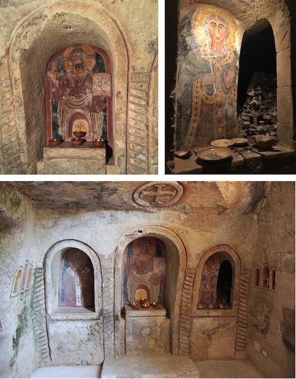 casa vestita chiesa rupestre