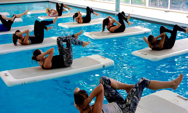 float fit allenamento