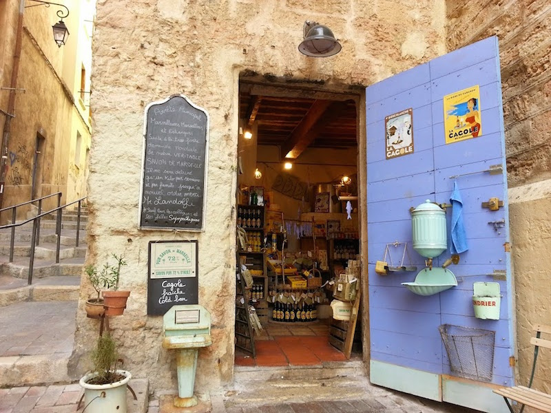 negozio sapone marsiglia