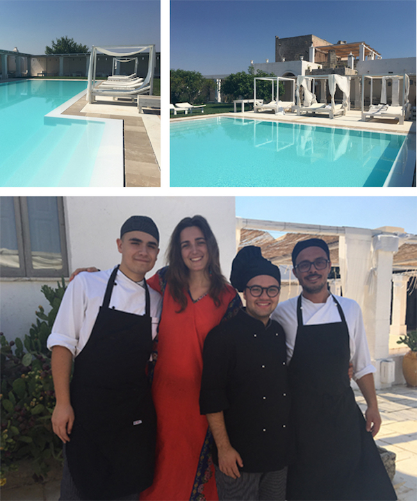 masseria potenti piscina e staff