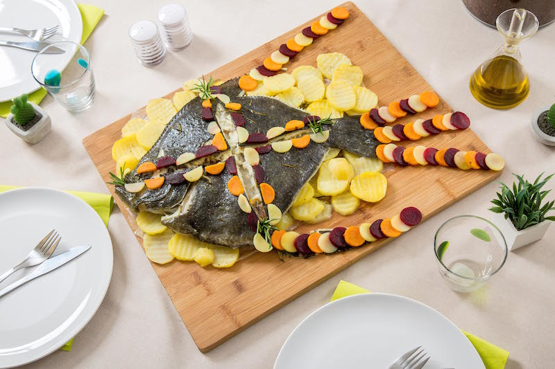 visual food pesce