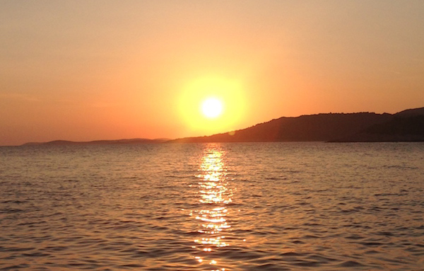 tramonto croazia
