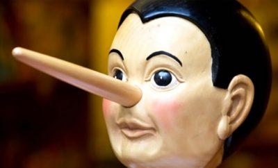 pinocchio uomo bugiardo
