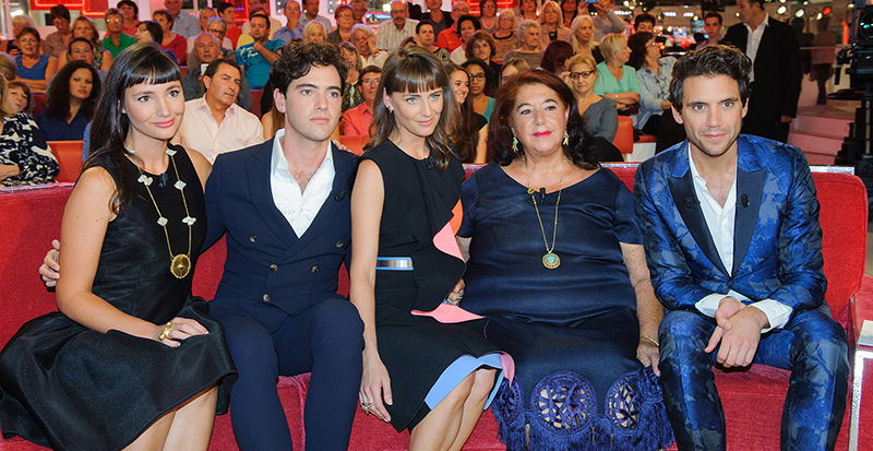 Mika and family