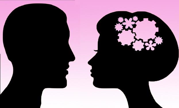 donna intelligente coppia
