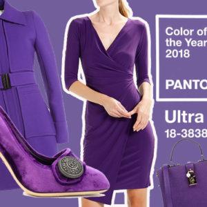 Look 50: superstiziosa o no, nel 2018 devi vestirti tutta di viola