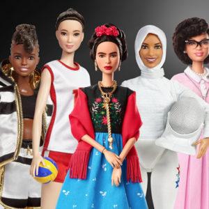 8 marzo: Barbie si trasforma in donne che hanno fatto la storia