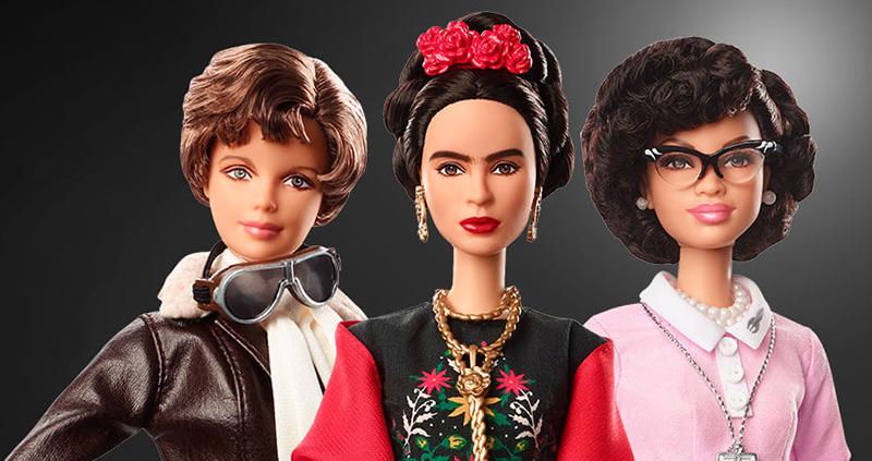 inspiring woman barbie