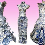 Indosseresti un abito da sera tutto realizzato in porcellana?