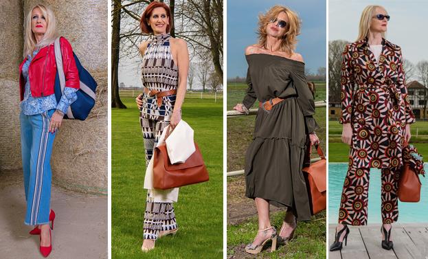 Look 50  la moda per le signore come voi indossata da noi ... 7aa6b377629
