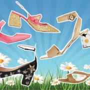 Look 50: fra tacco 12 e scarpa rasoterra, scegli le block heels