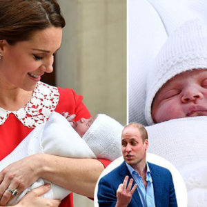 Kate e William hanno deciso: il Royal Baby si chiama Louis
