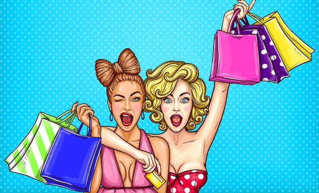 shopping a