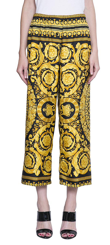 versace cropped