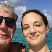 """""""Due settimane senza te"""": il post di Asia Argento per Bourdain"""