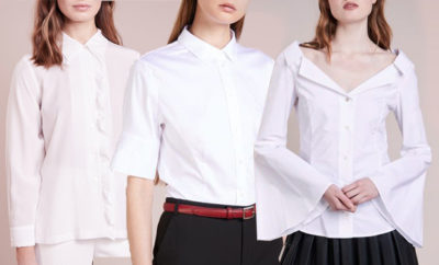 camicia bianca ap