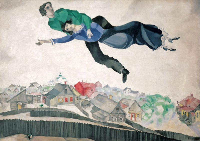 Marc-Chagall il volo
