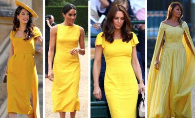 abito giallo
