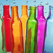 Il trend benefico dell'estate è la scoperta dell'acqua solarizzata