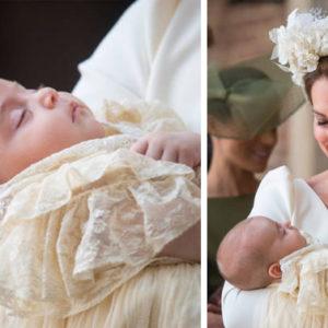 Mentre battezzavano Louis gli occhi di tutti erano su Kate