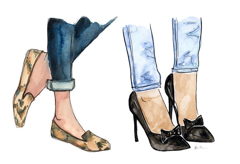 bon ton scarpe