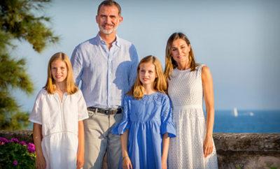 famiglia reale di spagna ap