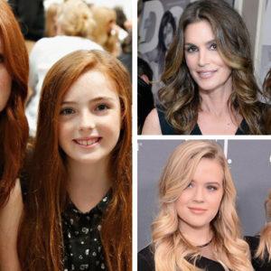 Quando le figlie delle celebrities sono belle come le loro mamme