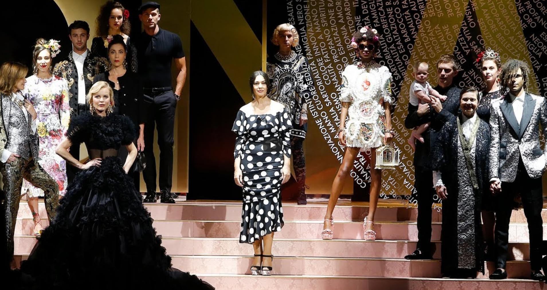 Dolce&Gabbana show