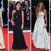 Sul tappeto rosso di Venezia gli outfit delle star fanno scintille
