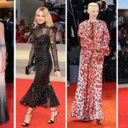 Questa volta sul red carpet di Venezia le star hanno toppato