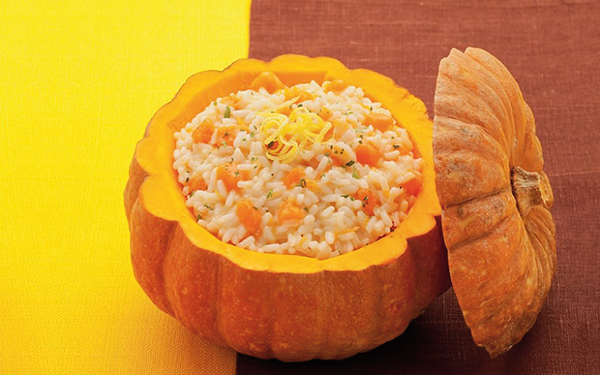 halloween party risotto zucca