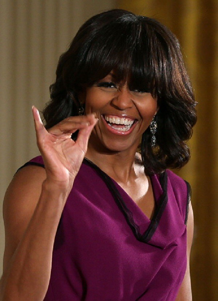 caschetto Michelle Obama