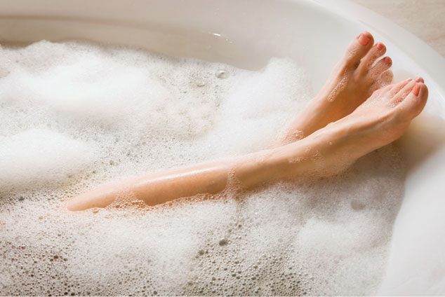 crampi-bagno-rilassante