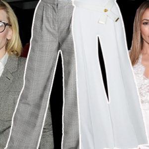 Copia lo stile delle Vip fifty: ecco i flare pants di Cate e Jennifer