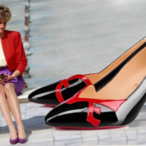 Ecco il restyling della scarpa che Louboutin disegnò per Diana