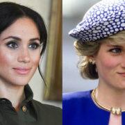 Meghan rende omaggio a Lady Diana indossando i suoi gioielli
