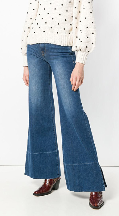 jeans palazzo frame