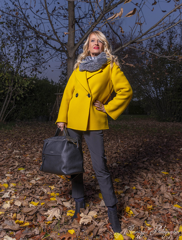 11 cappotto giallo