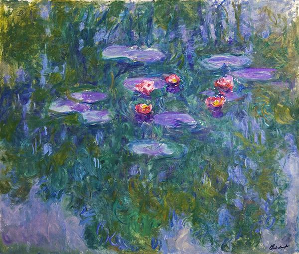 monet Water-Lilies 1916-19