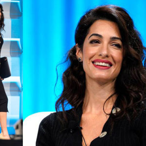 Se vuoi essere alla moda, adotta anche tu lo stile di Amal Clooney