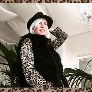 """Carla Gozzi: """"Abbina l'animalier così per non risultare volgare"""""""