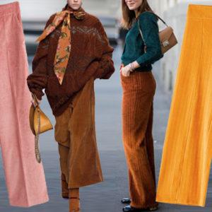 Va forte il pantalone in velluto a costine. Ma sai come abbinarlo?