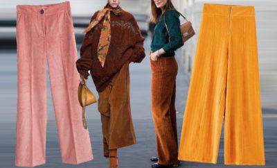 pantaloni velluto a costine ap ok