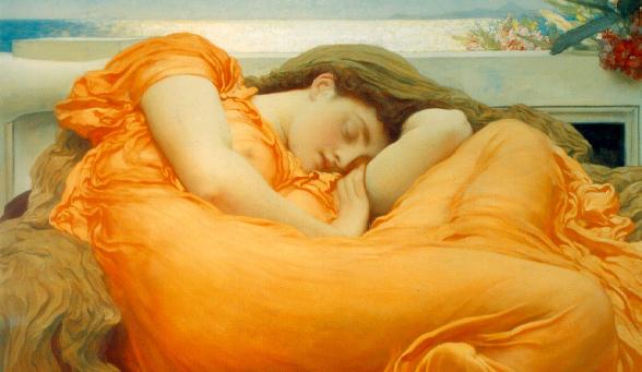 sonno donna dormiente
