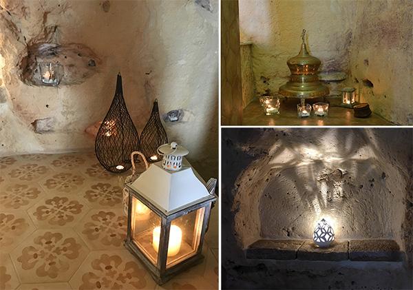 struttura spa candele